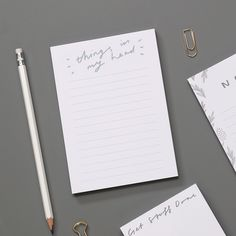 Jot down all those important things in your head!