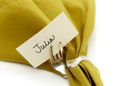 Napkin Ring/Placecard Holders @Jordan Johnson not sure if you have already pinned this or not but thought it was clever.