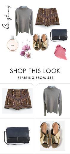 """Be glossy"" by dagmaraso on Polyvore featuring moda, Zara i Chanel"