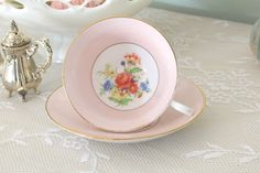Tea Set Vintage English Bone China by Rosina by MariasFarmhouse
