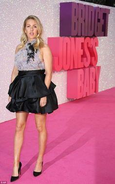 Ellie Goulding wearing Marchesa Halter Neck Dress