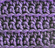 Crochet Spot » Blog Archive » Crochet in Front, Back or Both Loops - Crochet Patterns, Tutorials and News