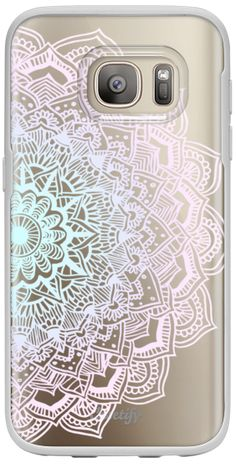 Casetify Galaxy S7 Classic Snap Case - Pastel Lace Mandala by Laurel Mae #Casetify