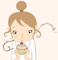 +Mmmmh+cupcakes by+lesjouesgrises