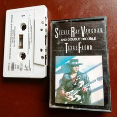 #tapetuesday - 'Texas Flood' (1983) by Stevie Ray Vaughan and Double Trouble. An amazing blues rock guitar album by one of the best ever…