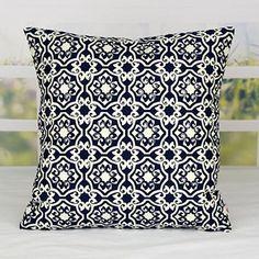 Chinoiserie flower decorative throw pillows geometric sofa cushions