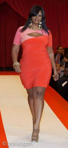 full figured fashion week 2013/ game over if I put this on!  :-)