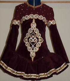 Doire Designs Irish Dance Solo Dress Costume
