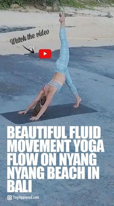 This short yoga video set in Bali captures the free spirit of Alyona as she moves with breath and fluid movement. Watch her yoga flow here.