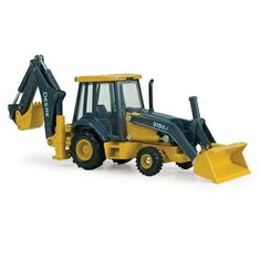 John Deere 1/50 315SJ Backhoe Loader $20