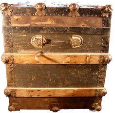 Antique Trunk restoration proceedures and information