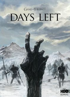"""HBO Nordic / Game of Thrones: The Countdown, 2 days left before """"Winter is coming! Game Of Thrones Poster, Game Of Thrones Art, Jon Snow, Khal Drogo, Game Of Thrones Countdown, Nordic Games, Best Television Series, Jaime Lannister, Cersei Lannister"""