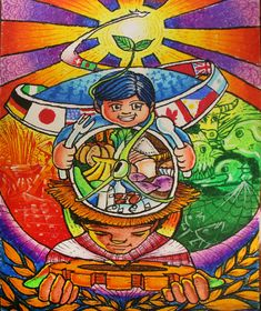 Madhubani Art, Art Drawings For Kids, Poster Making, Diets, Spiderman, Pastel, Concept, Oil, Future