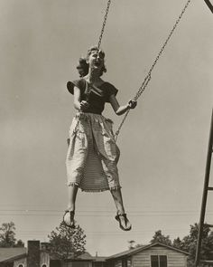 Tried this in grandkids swing, it hurt my hips...haha...hip too big, swing too small; I need an old-fashioned swing!