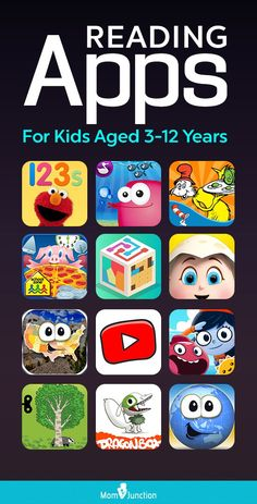 21 Best Reading Apps For Kids Aged Years : In this MomJunction post we have compiled a list of educational and informative reading apps for kids that are also interactive and engage them in a good way. Toddler Learning, Preschool Learning, Toddler Activities, Teaching Kids, Learning Games, Sensory Kids, Educational Websites For Kids, Educational Leadership, Educational Activities