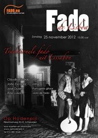 Poster 'Fado de Lisboa' via Fado.nu - Het online platform voor fado!