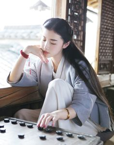 Xinyuan in Chinese traditional Hanfu 漢服