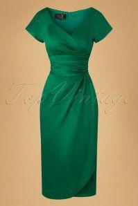 House of Foxy Dolce Vita Green Dress 100 40 20051 20161025 0011w