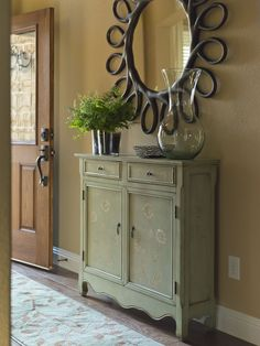 Small Entryway Cabinet