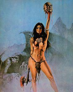 Vampirella by Enrich  Warren 1977 Calendar
