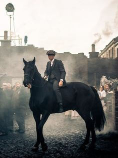Peaky Blinders - Behind the scenes This show is great- and the fact that it's brimming with Nick Cave & the bad seeds and Warren Ellis (before he joined up) still blows me away. It's like I wished really hard for a bunch of awesome things in TV to happen at once
