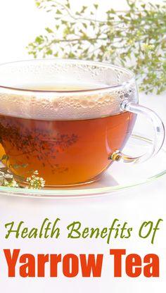 10 Amazing Health Benefits Of Yarrow Tea