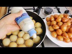 έχετε ένα άδειο μπουκάλι; Κάντε αυτό το εύκολο τραγανό γλυκό μπάλες | Δημοφιλές αραβικό επιδόρπιο - YouTube Beignets, Dessert Arabe, Baking Recipes, Dessert Recipes, Empty Bottles, Arabic Food, Confectionery, Relleno, No Bake Cake