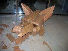 cardboard heads for masks
