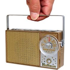 1950s solar transistor radio is powered by the sun! Hoffman BP-706. Offered at http://www.collectornet.net/radio/pocket/