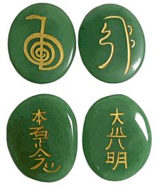 Sacred Reiki Healing Power Stones - Aventurine - pagan wiccan witchcraft magick ritual supplies