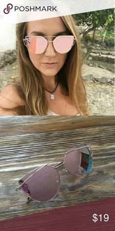 f7c3aaa09073 NEW WOMAN CAT WIRE STYLE FASHION SUNGLASSES Boutique