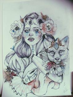 #tattoo #sketch #pliszka