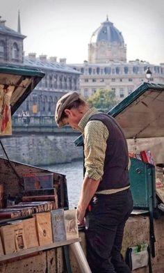 Book store along the Seine.. Paris, France | by Frédéric Douchet