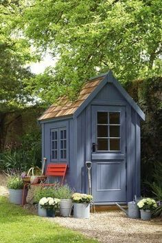 Small Wooden Shed from Posh Sheds. Garden Shed Ideas and inspiration. Garden and… Small Wooden Shed from Posh Sheds. Garden Shed Ideas and inspiration. Garden and potting sheds – plastic, metal and wooden – to inspire.