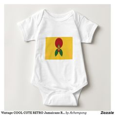 Vintage COOL CUTE RETRO Jamaicans Raster Gift Color #Cute #Jamaican #Baby #Clothes