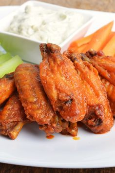 Restaurant Style Buffalo Chicken Wings