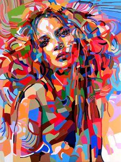 "Saatchi Art Artist Noemi Safir-Dolev; Painting, ""And so it is"" #art"