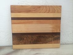 Wood Cheese Board $24  Custom sizes available