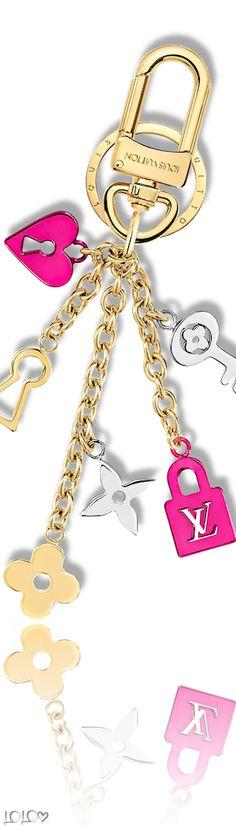 4e45bbc595a299 Louis Vuitton Love Lock Collection Bag Charm #louisvuitton Louis Vuitton  Accessories, Tech Accessories,