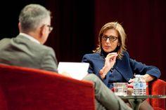 Entrevista Juan Ramón Lucas y Silvia Ruiz, directora de RR.HHl. de Banco Santander (27/11/14) http://bsan.es/santanderdiversidad
