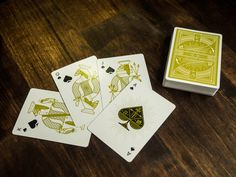 Rarebit playing cards by theory11.com