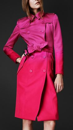 Burberry - Trench Coat - The colours are amazing.