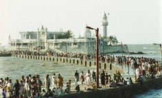 Haji Ali Dargah - Tomb of Pir Haji Ali Shah Bukhari People from all parts of the world without restrictions of caste, creed and religion visit the Dargah to offer their prayers and for the fulfillment of their wishes Read here - http://u4uvoice.com/?p=244409