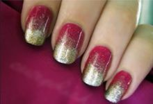 Ombre nagels from The Hunger Games cutepolish