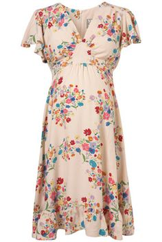 ASOS Maternity Skater Dress In Floral Print | Maternity clothes   ...