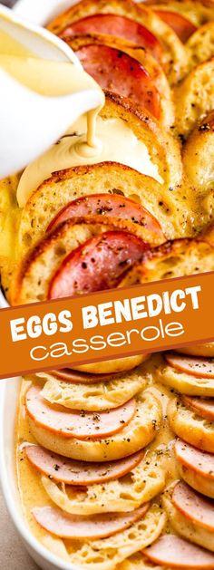 Breakfast Casserole Easy, Easy Casserole Recipes, Breakfast Dishes, Casserole Dishes, Breakfast Recipes, Breakfast Ideas, Second Breakfast, Skillet Recipes, Brunch Ideas