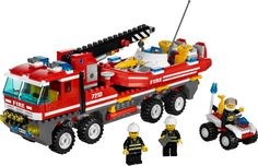 7213 Off-Road Fire Truck & Fireboat '10