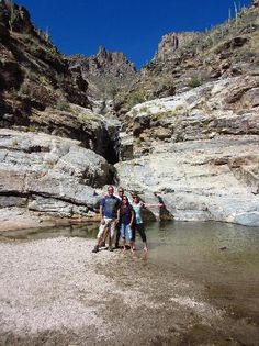 Sabino Canyon has the coolest wildlife to see, caves to explore, 7 falls, and the crack. This was a great memory of my high school years where my friends and I hung out and partied, but as an adult its a place to enjoy, hike, and explore!