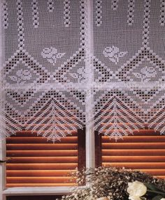 crochet - cortinas - curtains - Raissa Tavares - Picasa Web Albums