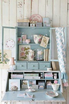 Cute shabby chic look...